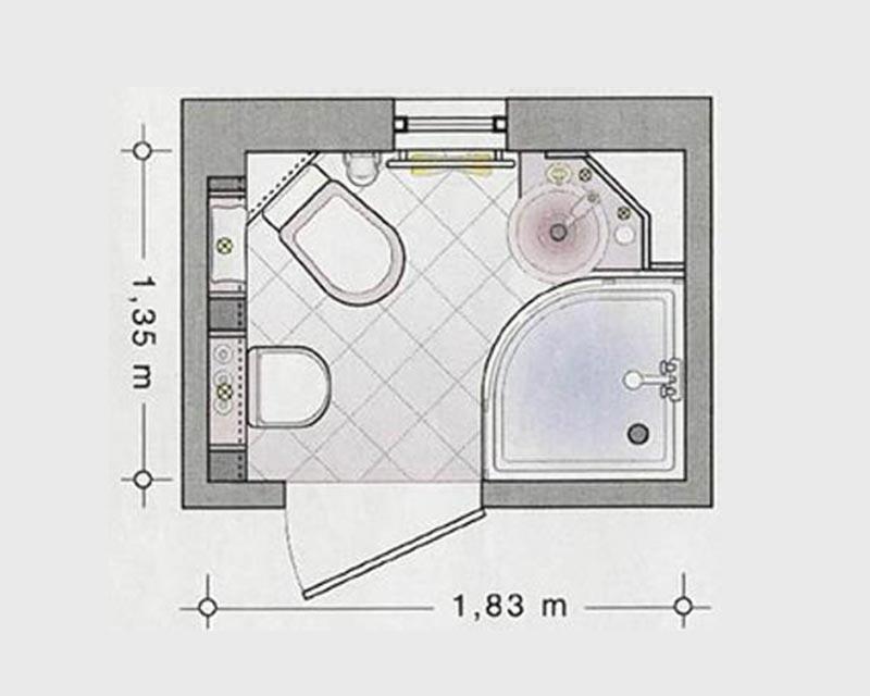 Bad Auf Kleinem Raum